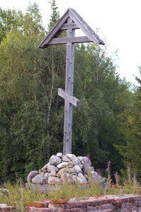 Поклонный крест на Соловках