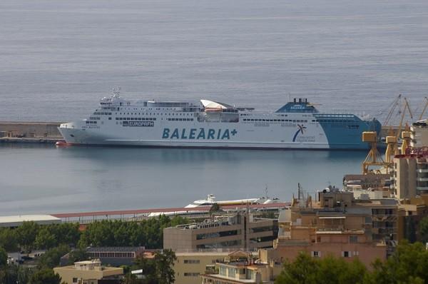 Корабль фото Балеарские острова