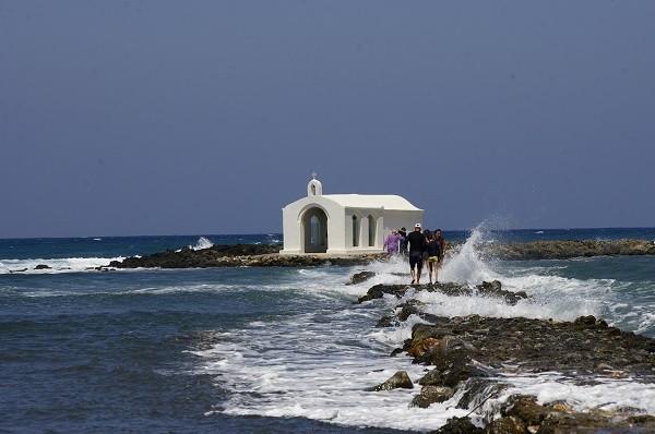 Средиземное море остров Крит
