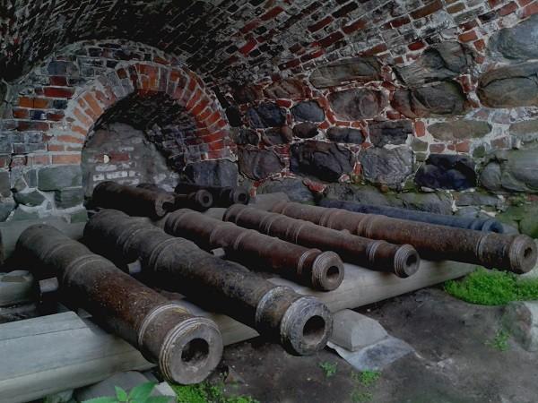 Пушки на Соловках